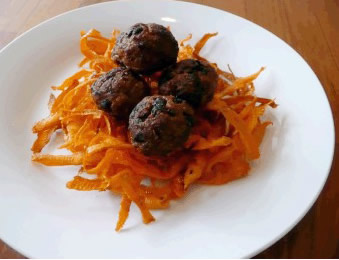 Meatballs-with-sweet-potatoes